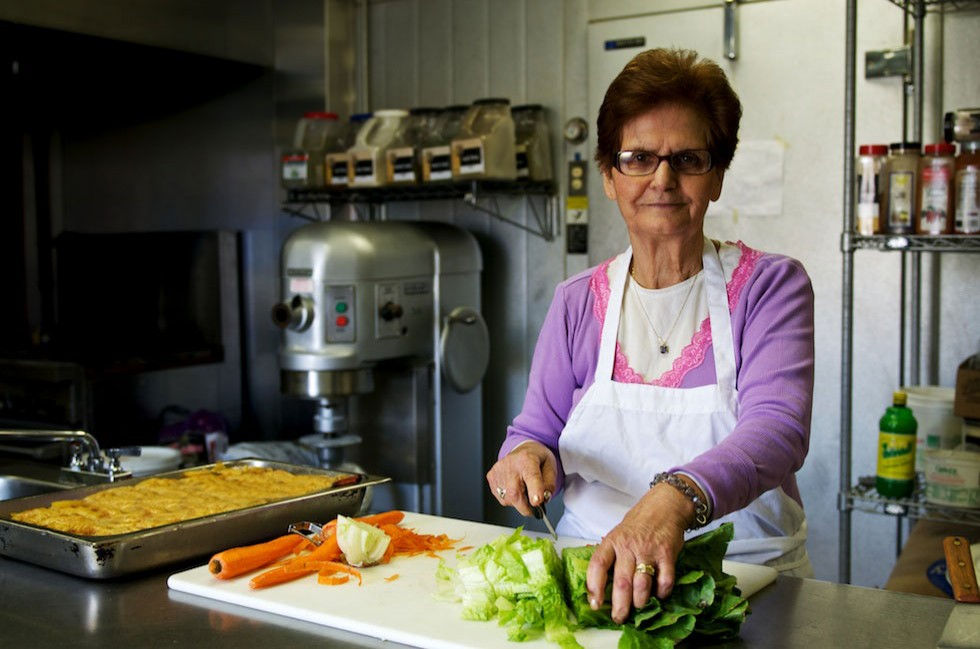 Our yiayia (grandmother) makes all our hardy delicious soups with fresh healthy ingredients.